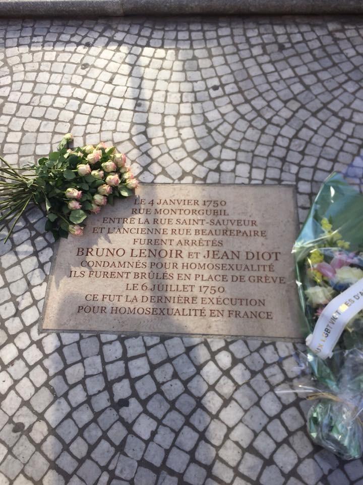 IDAHOT 2015 : rencontre au Sénat et veillée des oubliés de la mémoire dans le 2ème à Paris