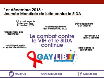 Journée Mondiale contre le Sida