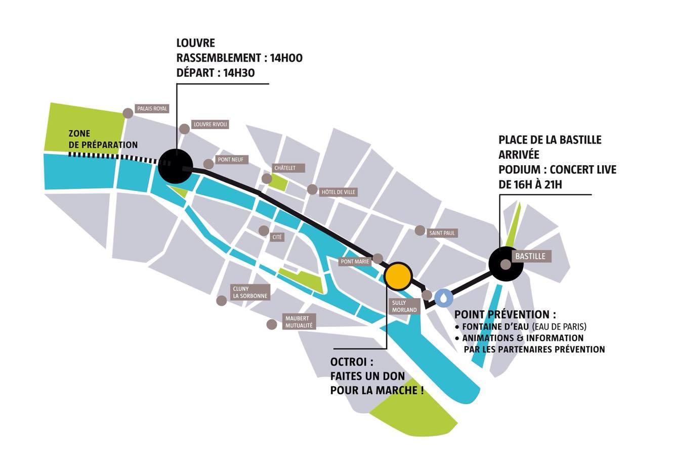 On vous donne rdv à 14h quai François Mitterrand - Char 27 (pas d adresse précise sur les quais..) Métros Pont Neuf (M7) ou Louvre Rivoli (M1)