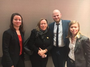 Alliance 2017 - Gaylib reçoit Irène Théry