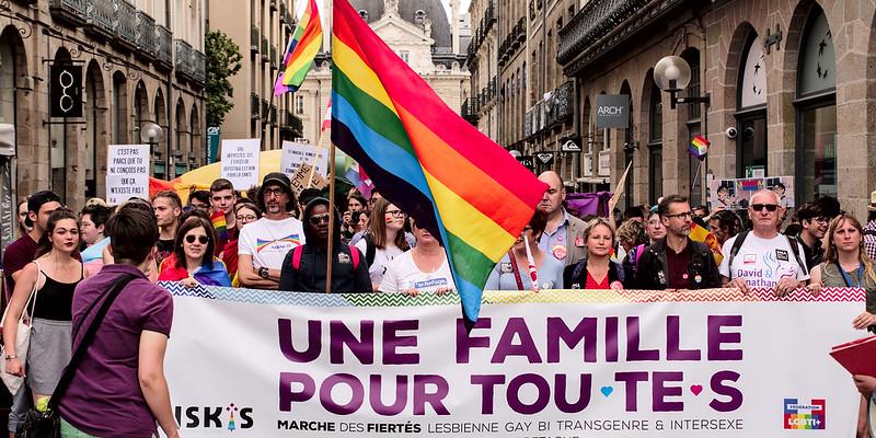 Amanda Hinault Suivre Une famille pour tou.te.s Rennes - Marche des fiertés 2018